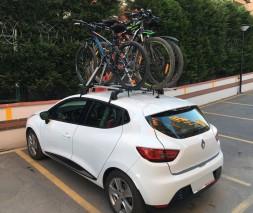 Renault Clio IV 2012-2019 гг. Крепление под велосипед