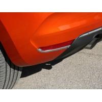 Окантовка задних рефлекторов (2 шт, нерж) Carmos - Турецкая сталь для Renault Clio V 2019+︎