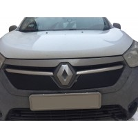 Зимняя решетка Матовая для Renault Dokker 2013+