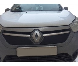 Renault Dokker 2013↗ гг. Зимняя решетка Матовая