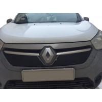 Зимняя решетка Глянцевая для Renault Dokker 2013+
