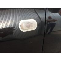 Renault Duster 2008-2017 Обводка поворотника (2 шт., нерж)