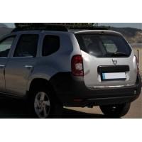 Кромка багажника (нерж.) OmsaLine - Итальянская нержавейка для Renault Duster 2008-2017