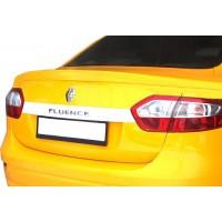 Спойлер (под покраску) для Renault Fluence 2009+