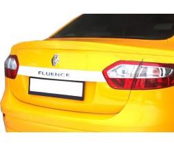 Renault Fluence 2009+ гг. Спойлер (под покраску)