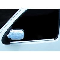 Наружняя окантовка стекол (2 шт, нерж.) Carmos - Турецкая сталь для Renault Kangoo 1998-2008