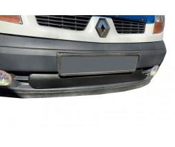 Renault Kangoo 1998-2008 гг. Зимняя решетка нижняя (2003-2008) Глянцевая