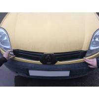 Зимняя решетка верхняя (2003-2008) Глянцевая для Renault Kangoo 1998-2008