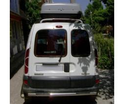 Renault Kangoo 1998-2008 гг. Спойлер Исикли (под покраску)