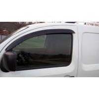 Ветровики (2 шт, DDU-CBR) для Renault Kangoo 2008-2019