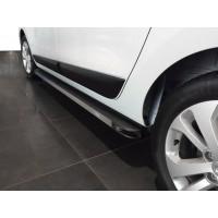 Боковые пороги Maya V1 (2 шт., алюминий) для Renault Lodgy 2013+