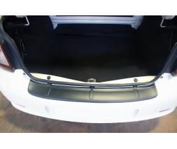 Renault Logan III 2013+ гг. Накладка на задний бампер EuroCap (ABS)