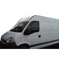 Renault Master 2004-2010 Ветровики (2 шт, HIC)