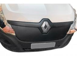 Renault Master 2011+ гг. Зимняя решетка (2014+, верхняя) Матовая