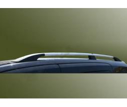 Renault Master 2011+ гг. Рейлинги Хром Long, пластиковые ножки