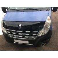 Renault Master 2011+ Дефлектор капота 2010-2014 (VIP)