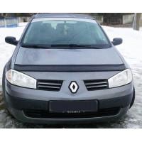 Дефлектор капота (VIP) для Renault Megane II 2004-2009