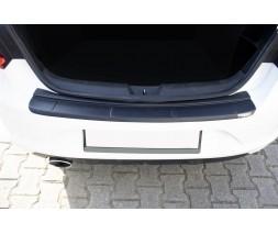 Renault Megane IV 2016+ гг. Накладка на задний бампер EuroCap (ABS)