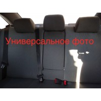 Renault Scenic/Grand 2009-2016 гг. Авточехлы (тканевые, Classik)
