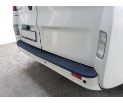 Renault Trafic 2001-2015 гг. Накладка на задний бампер EuroCap (ABS)