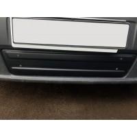 Зимняя нижняя накладка на решетку (под номером) 2001-2007, Матовая для Renault Trafic 2001-2015