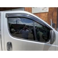Ветровики (2 шт, ANV) для Renault Trafic 2001-2015