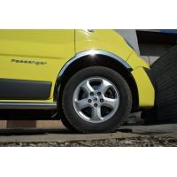 Renault Trafic 2001-2015 Накладки на колесные арки (4 шт, нержавейка) 2001-2007
