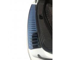 Накладка на задний бампер Carmos (нерж) для Seat Alhambra 1996-2010