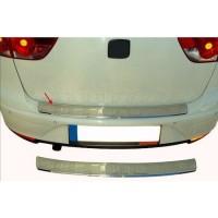 Seat Altea 2004+ гг. Накладка на задний бампер OmsaLine (XL, нерж)