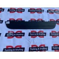 Зимняя накладка на решетку (нижняя) Матовая для Skoda Octavia II A5 2010-2013