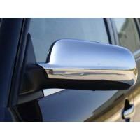Skoda Octavia Tour A4 Накладки на зеркала (2 шт, нерж) Симметричные