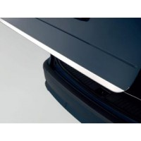 Skoda Rapid 2012+ гг. Кромка багажника (нерж) Carmos - Турецкая сталь