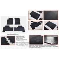 Резиновые коврики (4 шт, Stingray Premium) для SsangYong Rexton II 2008+ и 2013+