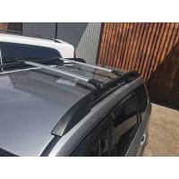 Subaru Forester 2008-2013 Перемычки на рейлинги под ключ (2 шт) Серый