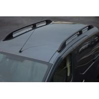 Рейлинги OmsaLine Elegance (2 шт, черные) для Subaru XV 2011-2017