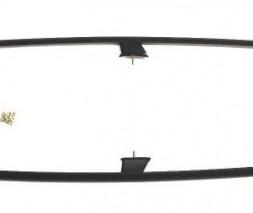 Suzuki Grand Vitara 2005-2014 гг. Рейлинги DD (черные)