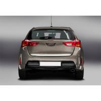 Кромка багажника (нерж) для Toyota Auris 2012-2015