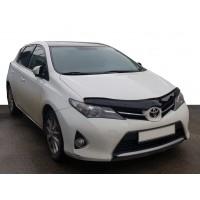 Toyota Auris 2012-2015 Дефлектор капота (EuroCap)
