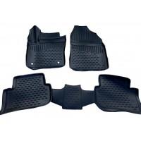 Toyota C-HR Резиновые коврики (4 шт, Novline)
