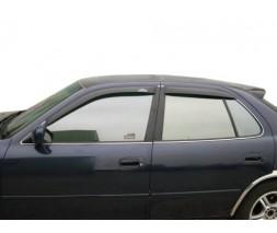 Ветровики (4 шт, HIC) для Toyota Camry 1997-2002 гг.