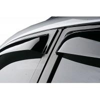 Ветровики (4 шт, ANV) для Toyota Corolla 2007-2013