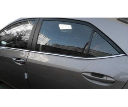 Toyota Corolla 2019↗︎ гг. Нижняя окантовка (4 шт, нерж)