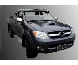 Toyota Hilux 2006-2015 гг. Козырек лобового стекла (на кронштейнах)