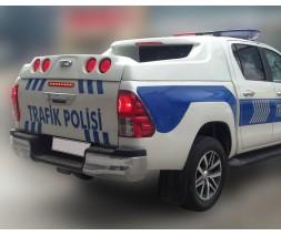 Toyota Hilux 2015+ гг. Кунг GRAND BOX