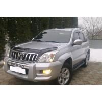 Дефлектор капота (VIP) для Toyota Land Cruiser Prado 120