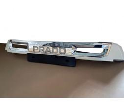 Toyota LC 150 Prado Передняя накладка с подсветкой (2017-)