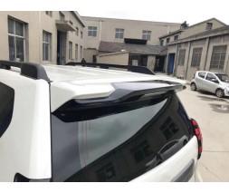 Toyota Land Cruiser Prado 150 Спойлер вставка (поверх родного) Белый цвет