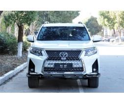 Toyota Land Cruiser Prado 150 Передний бампер GX-design V2 (2017-)