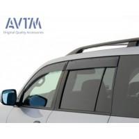 Ветровики (4 шт, AVTM) для Toyota Land Cruiser 200
