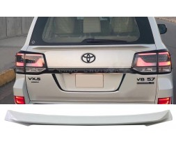 Toyota Land Cruiser 200 Спойлер нижний (2015+) Черный цвет